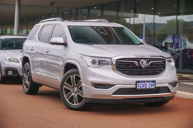 Used Holden Acadia AC MY19 LTZ-V 2WD Gosnells, 2018 Holden Acadia AC MY19 LTZ-V 2WD Silver 9 Speed Sports Automatic Wagon