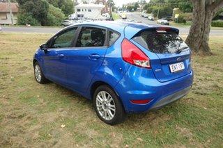 2014 Ford Fiesta WZ Trend Blue 5 Speed Manual Hatchback.