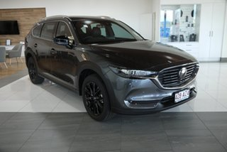 2021 Mazda CX-8 KG4W2A Touring SKYACTIV-Drive i-ACTIV AWD SP Grey 6 Speed Sports Automatic Wagon.