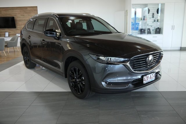 Demo Mazda CX-8 KG4W2A Touring SKYACTIV-Drive i-ACTIV AWD SP Bundaberg, 2021 Mazda CX-8 KG4W2A Touring SKYACTIV-Drive i-ACTIV AWD SP Grey 6 Speed Sports Automatic Wagon