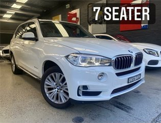 2014 BMW X5 F15 xDrive30d White Sports Automatic Wagon.