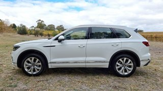 2021 Volkswagen Touareg CR MY21 210TDI Tiptronic 4MOTION Elegance Pure White 8 Speed