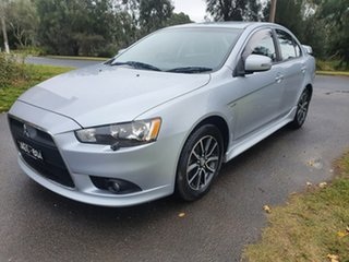 2015 Mitsubishi Lancer CJ ES Sport Silver Constant Variable Sedan.