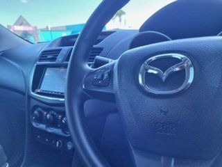 2019 Mazda BT-50 UR0YG1 XT Freestyle Silver 6 Speed Manual Cab Chassis
