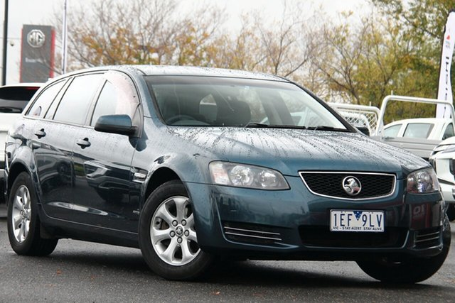 Used Holden Commodore VE II MY12 Omega Sportwagon Essendon North, 2012 Holden Commodore VE II MY12 Omega Sportwagon Blue 6 Speed Sports Automatic Wagon