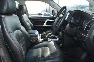 2016 Toyota Landcruiser VDJ200R Sahara Graphite 6 Speed Sports Automatic Wagon