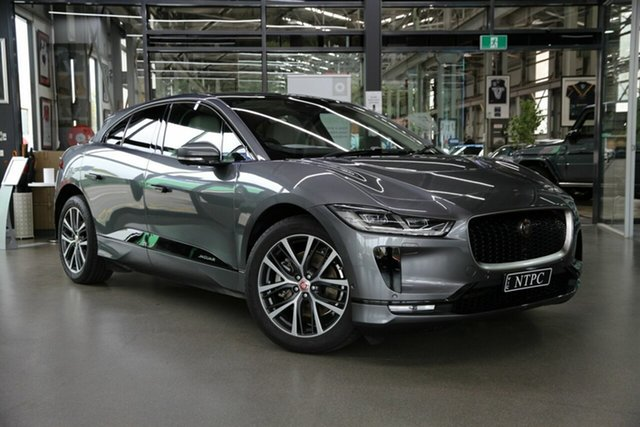 Used Jaguar I-Pace MY19 Update EV400 First Editn AWD (294kW) North Melbourne, 2019 Jaguar I-Pace MY19 Update EV400 First Editn AWD (294kW) Grey 1 Speed Automatic Wagon