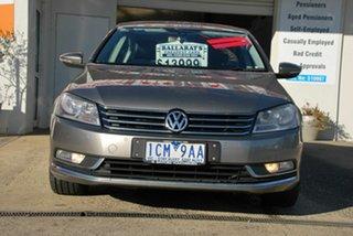 2013 Volkswagen Passat 3C MY14 118 TSI Brown 7 Speed Auto Direct Shift Sedan.
