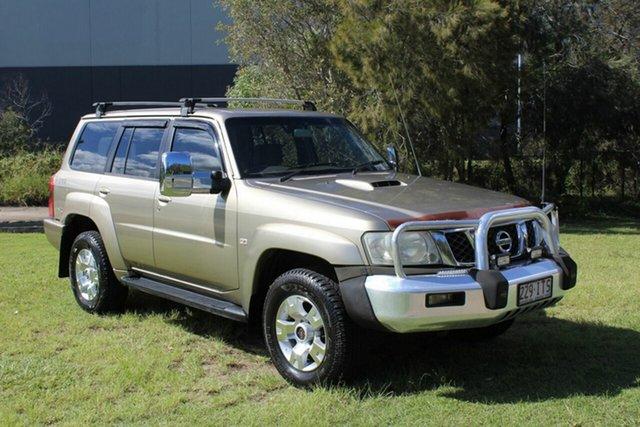 Used Nissan Patrol GU IV MY05 ST-S Ormeau, 2005 Nissan Patrol GU IV MY05 ST-S Gold 4 Speed Automatic Wagon