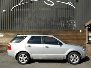 2007 Ford Territory SY TS Silver 4 Speed Sports Automatic Wagon.