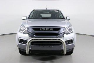 2018 Isuzu MU-X UC MY18 LS-M (4x4) Silver 6 Speed Auto Sequential Wagon.