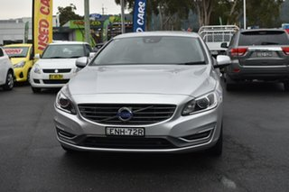 2014 Volvo S60 F Series MY14 T5 Geartronic R-Design Silver 8 Speed Sports Automatic Sedan.