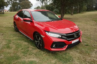 2017 Honda Civic 10th Gen MY17 RS Red 1 Speed Constant Variable Hatchback.