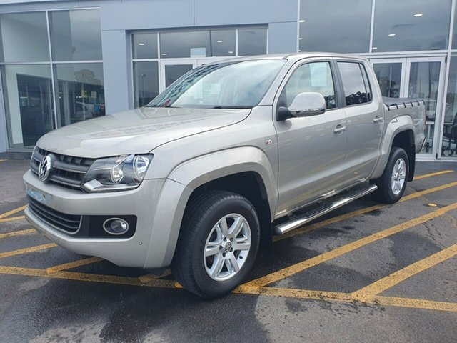 Used Volkswagen Amarok 2H MY15 TDI420 4Motion Perm Highline Epsom, 2015 Volkswagen Amarok 2H MY15 TDI420 4Motion Perm Highline Silver 8 Speed Automatic Utility