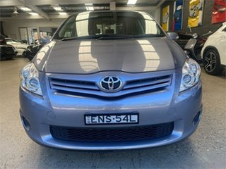 2010 Toyota Corolla ZRE152R Ascent Blue Automatic Hatchback.