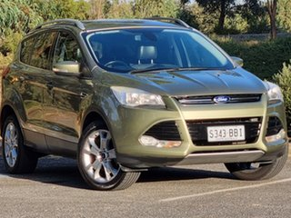 2014 Ford Kuga TF Trend PwrShift AWD Ginger Ale 6 Speed Sports Automatic Dual Clutch Wagon.