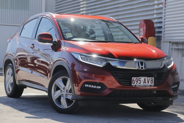 Demo Honda HR-V MY21 VTi-S Indooroopilly, 2020 Honda HR-V MY21 VTi-S Passion Red 1 Speed Constant Variable Hatchback
