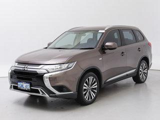 2018 Mitsubishi Outlander ZL MY19 ES 7 Seat (AWD) Ironbark Continuous Variable Wagon.