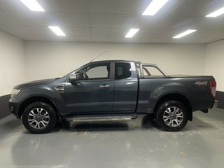 2016 Ford Ranger PX MkII XLT Super Cab Metropolitan Grey 6 Speed Sports Automatic Utility