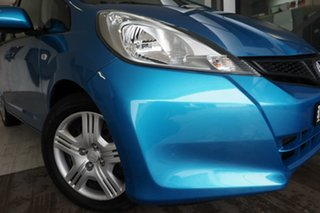 2011 Honda Jazz GE MY11 VTi Blue 5 Speed Manual Hatchback.
