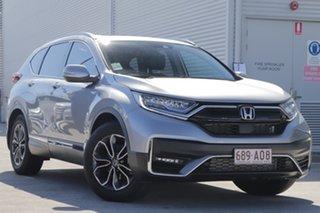 2020 Honda CR-V RW MY21 VTi 4WD L AWD Lunar Silver 1 Speed Constant Variable Wagon.