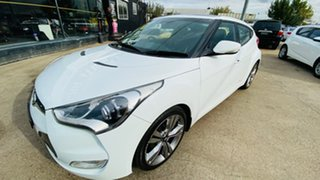 2011 Hyundai Veloster FS + Coupe D-CT 6 Speed Sports Automatic Dual Clutch Hatchback