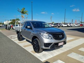 2019 Mazda BT-50 UR0YG1 XT Freestyle Silver 6 Speed Manual Cab Chassis.