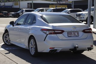 2018 Toyota Camry GSV70R SL Frosted White 8 Speed Sports Automatic Sedan