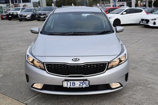 2018 Kia Cerato YD MY18 S Silver 6 Speed Sports Automatic Hatchback.