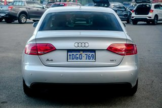 2010 Audi A4 B8 8K MY10 Silver 6 Speed Manual Sedan