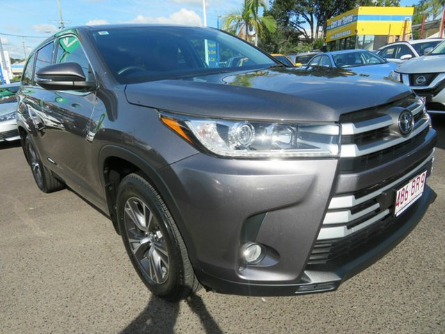 Used Toyota Kluger GSU55R GX AWD Mount Gravatt, 2019 Toyota Kluger GSU55R GX AWD Grey 8 Speed Sports Automatic Wagon
