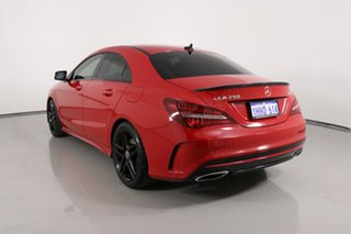 2017 Mercedes-Benz CLA250 117 MY17 4Matic Red 7 Speed Auto Dual Clutch Coupe