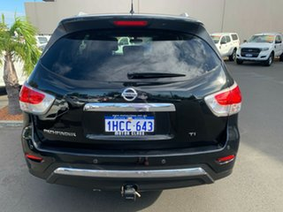 2016 Nissan Pathfinder R52 Series II MY17 Ti X-tronic 2WD Black 1 Speed Constant Variable Wagon.