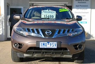 2011 Nissan Murano Z51 MY12 ST Brown Continuous Variable Wagon.