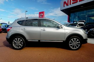 2010 Nissan Dualis J10 MY2009 Ti X-tronic AWD Silver 6 Speed Constant Variable Hatchback.