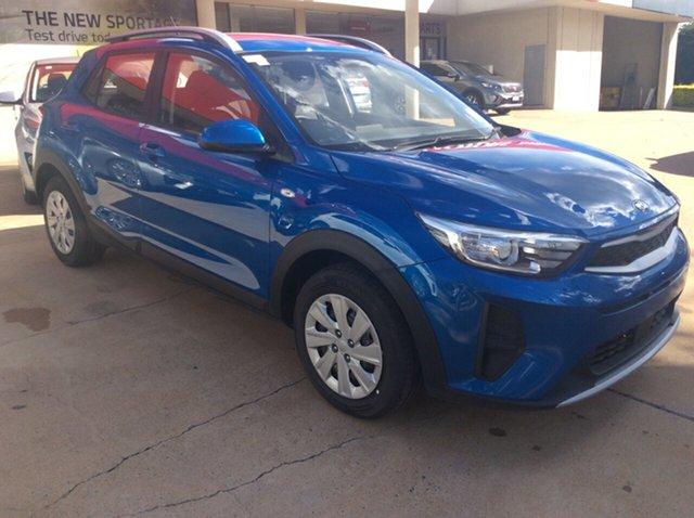 New Kia Stonic YB MY21 S FWD Toowoomba, 2021 Kia Stonic YB MY21 S FWD Sporty Blue 6 Speed Automatic Wagon