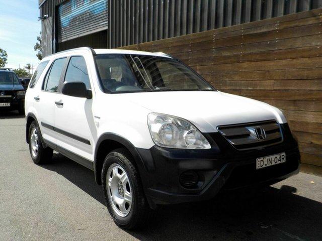 Used Honda CR-V RD MY2005 4WD Labrador, 2005 Honda CR-V RD MY2005 4WD White 5 Speed Automatic Wagon