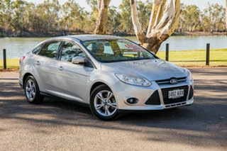 2013 Ford Focus LW MK2 Trend White 6 Speed Automatic Sedan.