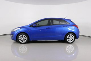 2016 Hyundai i30 GD4 Series 2 Active Blue 6 Speed Automatic Hatchback