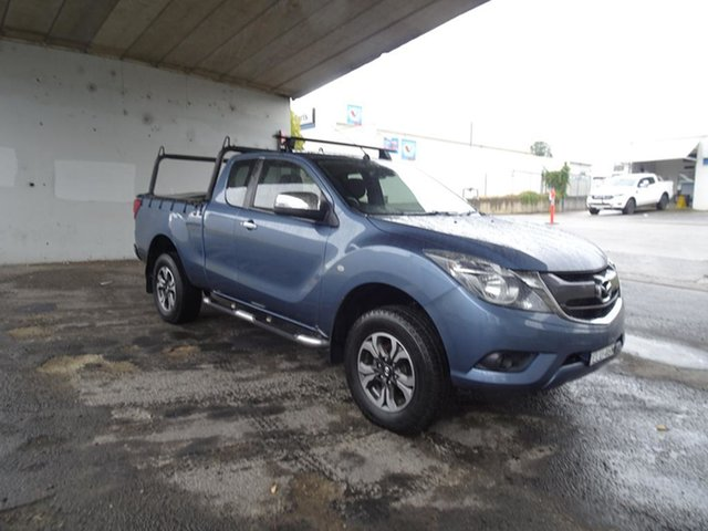 Used Mazda BT-50 UR0YF1 XTR Nowra, 2016 Mazda BT-50 UR0YF1 XTR Blue 6 Speed Automatic Utility
