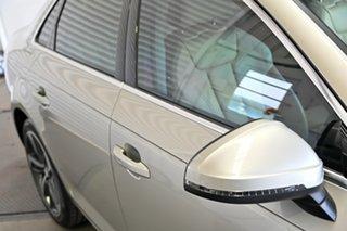 2017 Audi A4 B9 8W MY17 Sport S Tronic Quattro Silver 7 Speed Sports Automatic Dual Clutch Sedan.