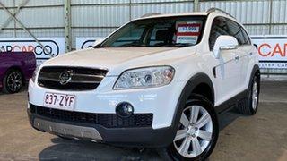 2008 Holden Captiva CG MY08 LX AWD White 5 Speed Sports Automatic Wagon.