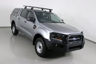 2016 Ford Ranger PX MkII XL 3.2 (4x4) Silver 6 Speed Manual Crew Cab Utility