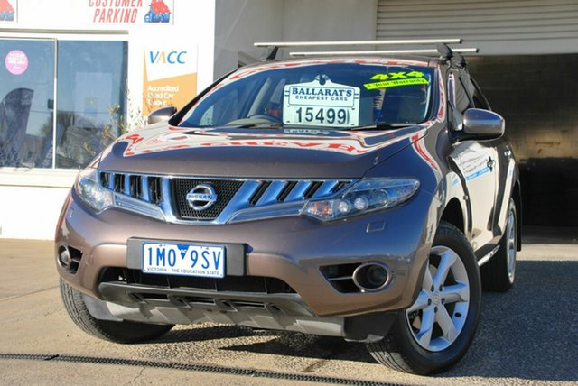 Used Nissan Murano Z51 MY12 ST Wendouree, 2011 Nissan Murano Z51 MY12 ST Brown Continuous Variable Wagon