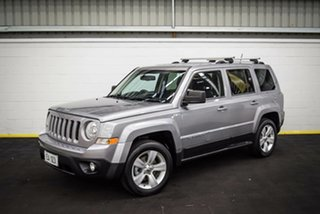 2016 Jeep Patriot MK MY16 Limited Silver 6 Speed Sports Automatic Wagon.