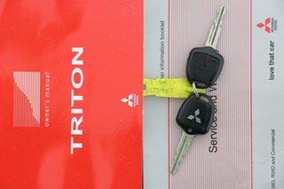 2015 Mitsubishi Triton MN MY15 GLX White 4 Speed Automatic Double Cab Utility