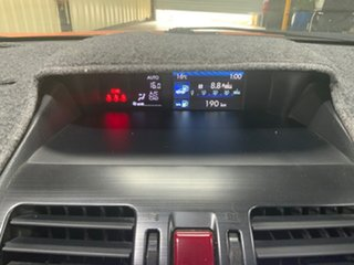 2012 Subaru XV MY13 2.0I-S Orange 6 Speed Manual Wagon