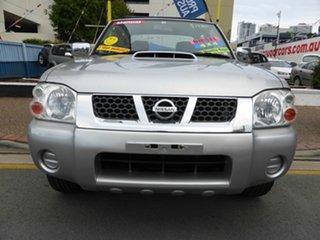 2008 Nissan Navara D22 ST-R (4x4) Silver 5 Speed Manual Dual Cab Pick-up