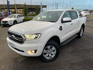 2019 Ford Ranger PX MkIII 2019.75MY XLT Hi-Rider White 10 Speed Sports Automatic Double Cab Pick Up