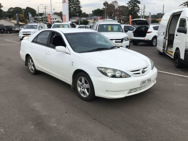 Used Toyota Camry MCV36R Sportivo Cardiff, 2005 Toyota Camry MCV36R Sportivo White 4 Speed Automatic Sedan